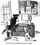 Peter Steiner para New Yorker